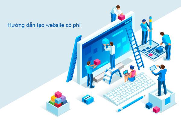 Hướng dẫn  thiết kế website có phí