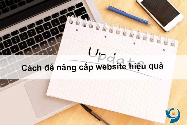 Cách để nâng cấp website hiệu quả