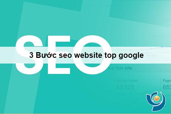 3 Bước seo website top google