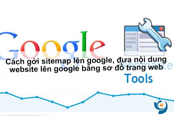 Cách gởi sitemap lên google, đưa nội dung website lên google bằng sơ đồ trang web