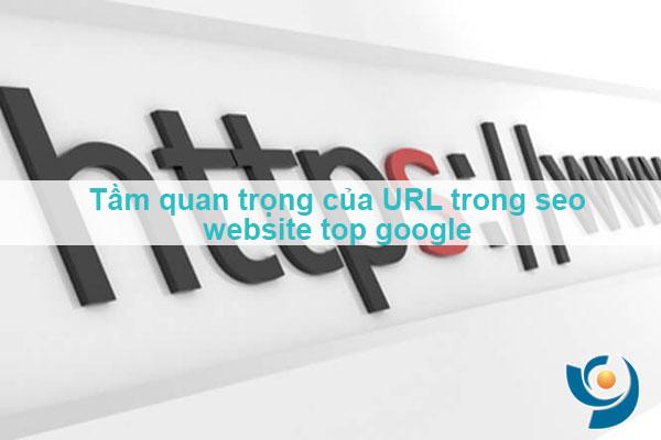 URL rất quan trọng khi seo website top google