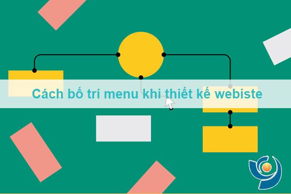 Cách bố trí menu khi thiết kế webiste