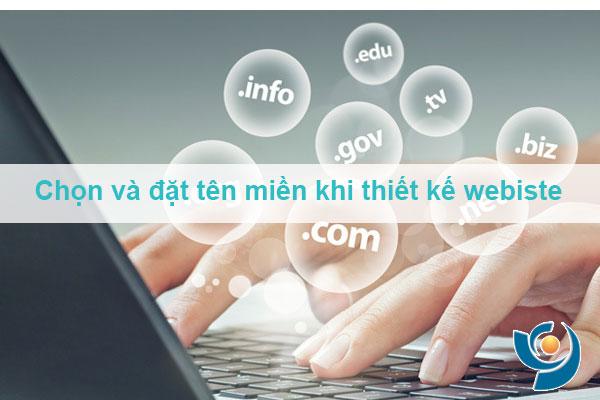Chọn và đặt tên miền khi thiết kế webiste