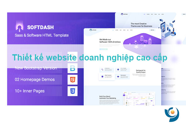 Thiết kế website website doanh nghiệp cao cấp