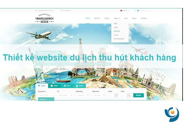 Thiết kế, xây dựng website du lịch thu hút khách hàng