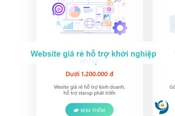 Thiết kế websie giá rẻ thích hợp cửa hàng, công ty, doanh nghiệp mới